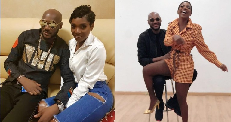Annie Idibia celebrates hubby 2baba's 45th birthday with loved up video