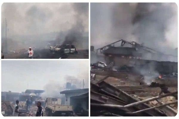 Iju Ishaga gas explosion_ At least 50 injured