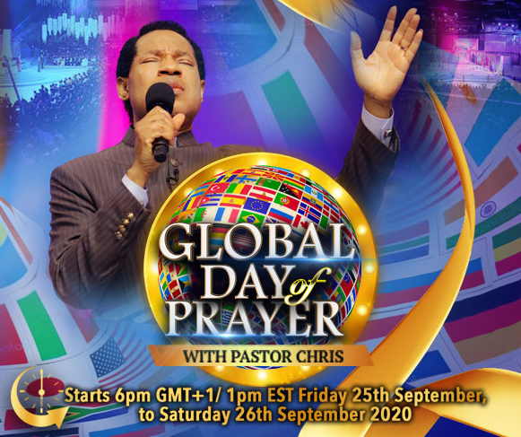 Photo of Third Global Day Of Prayer With Pastor Chris
