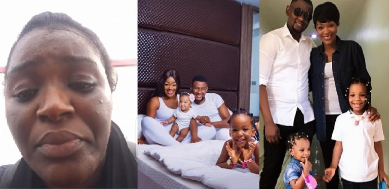 """Photo of """"I'm leaving My Husband"""" – Actress Chacha Eke in tears as she announces end of her 7-year-old marriage"""